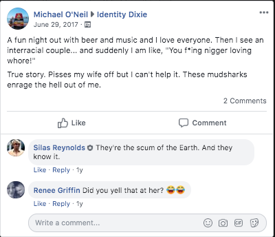 """Michael O'Neil"" post"