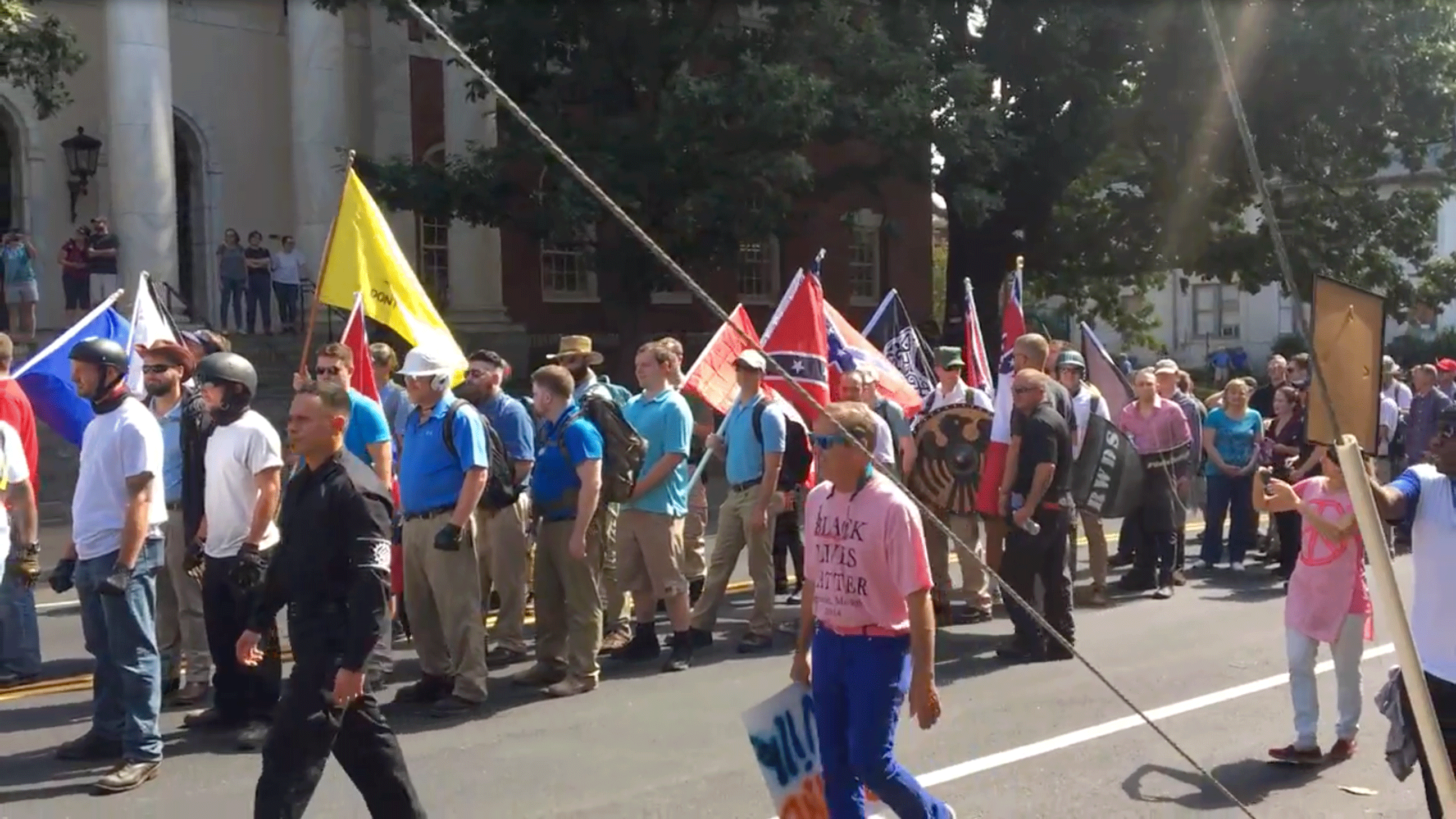 ID members in Charlottesville