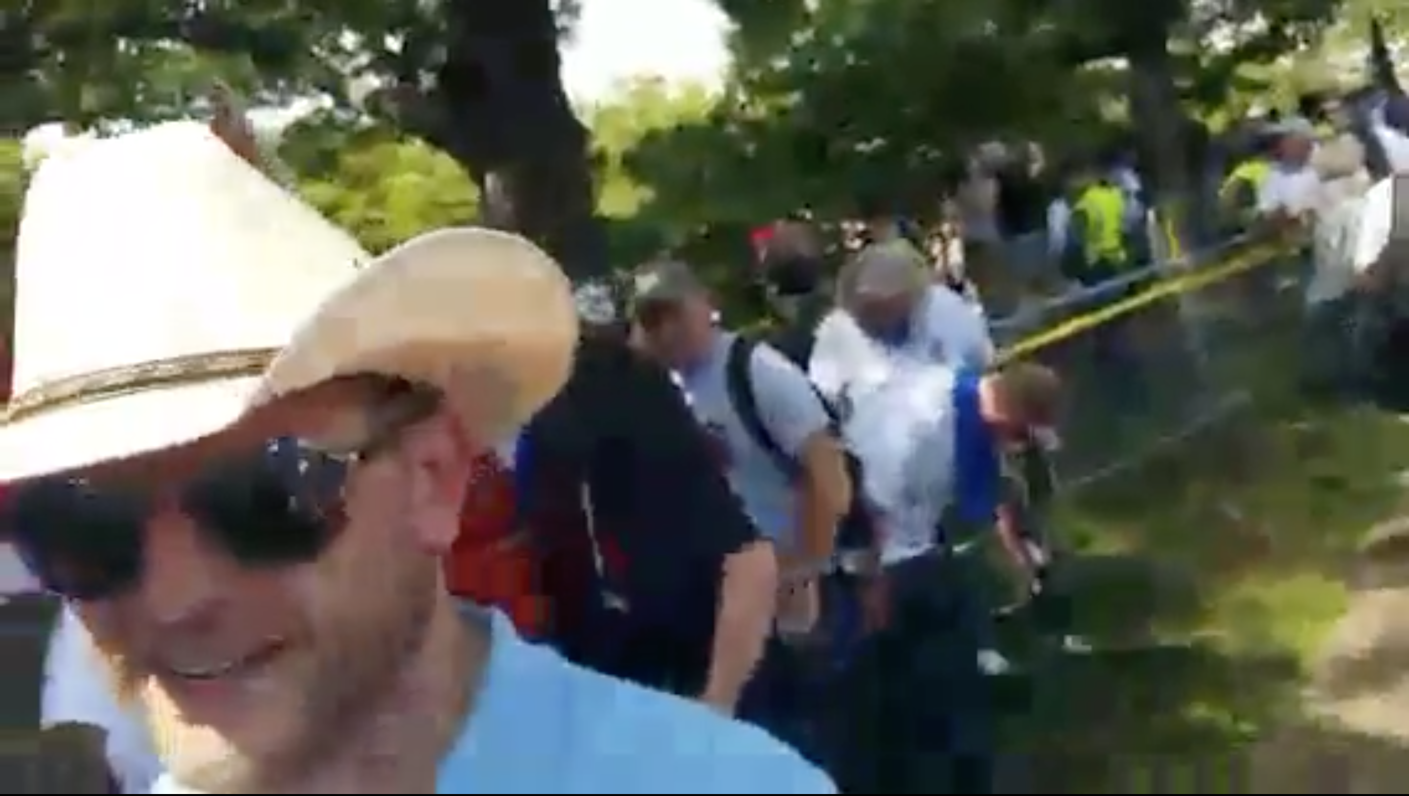 "Lucas Gordon at ""Unite the Right"""