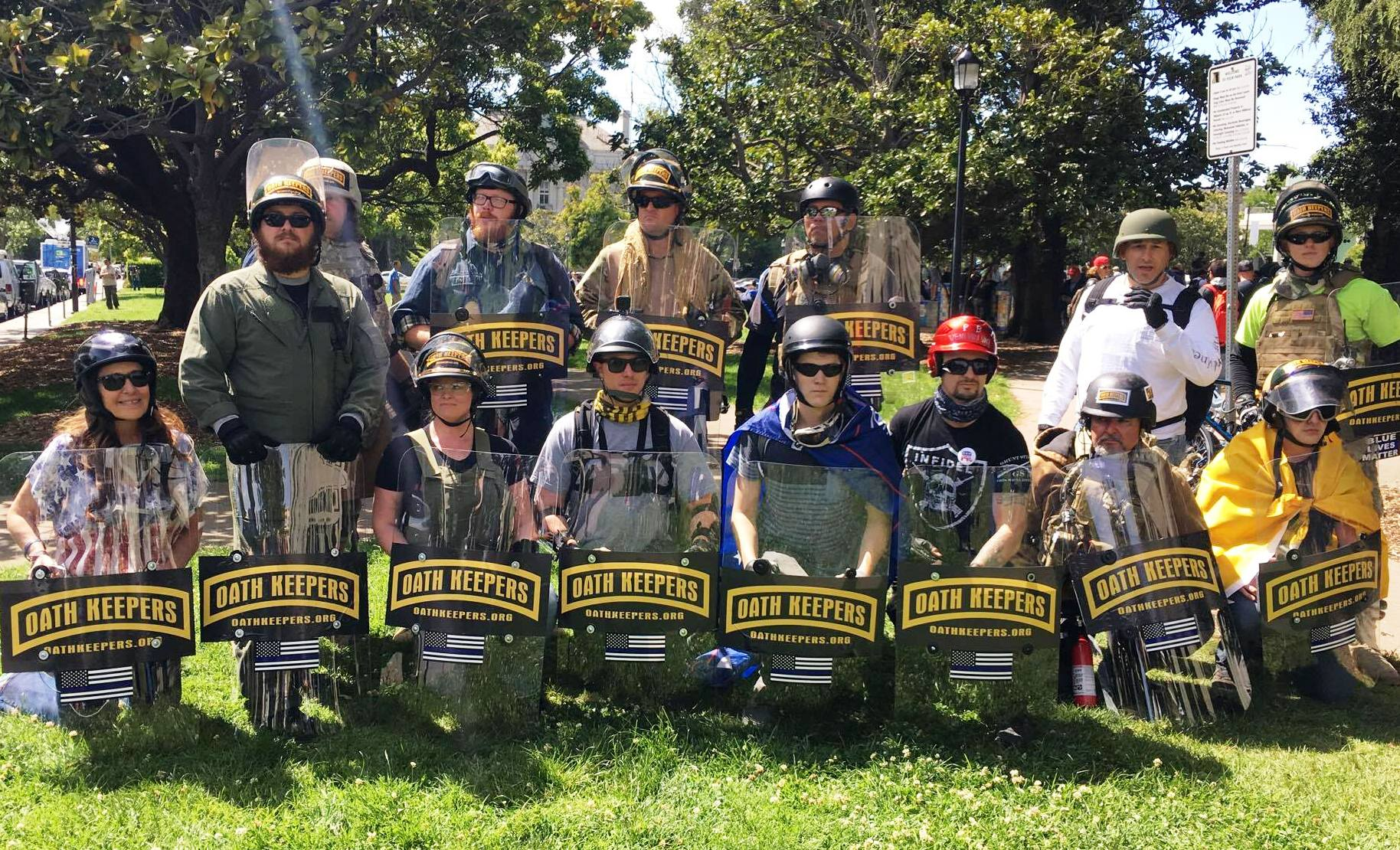 Antonio Foreman and the Oath Keepers