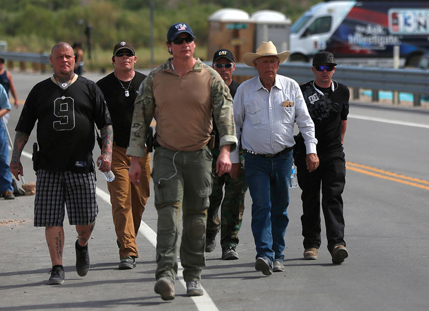War in the West: The Bundy Ranch Standoff and the American