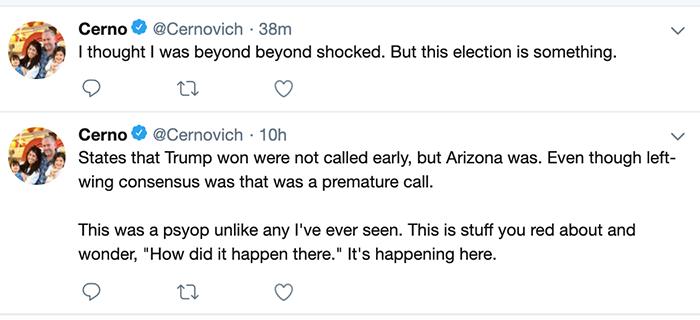 Cernovich tweet