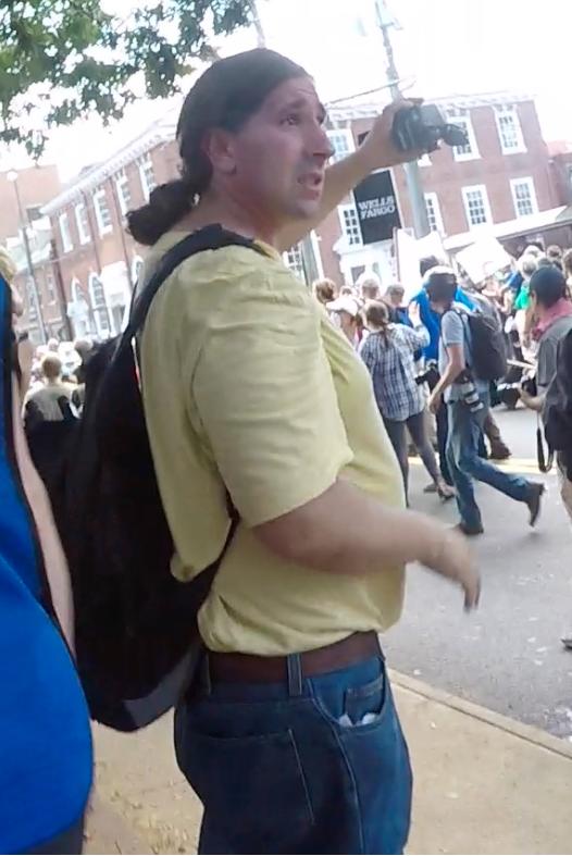 Proud Boy Gabriel Brown at Charlottesville.