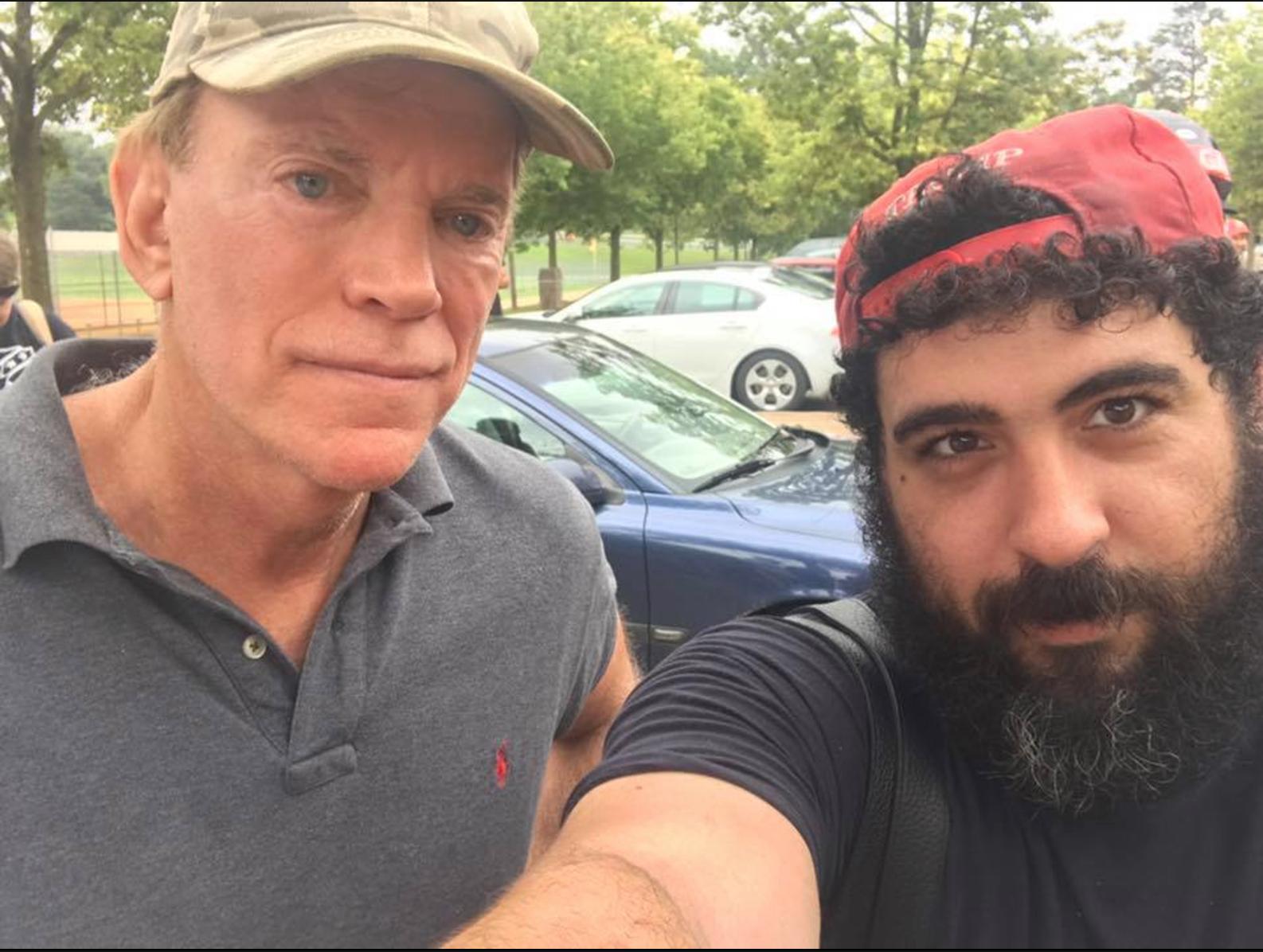 Sal Cipolla with David Duke.