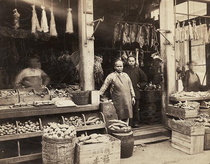 Chinatown butcher shop