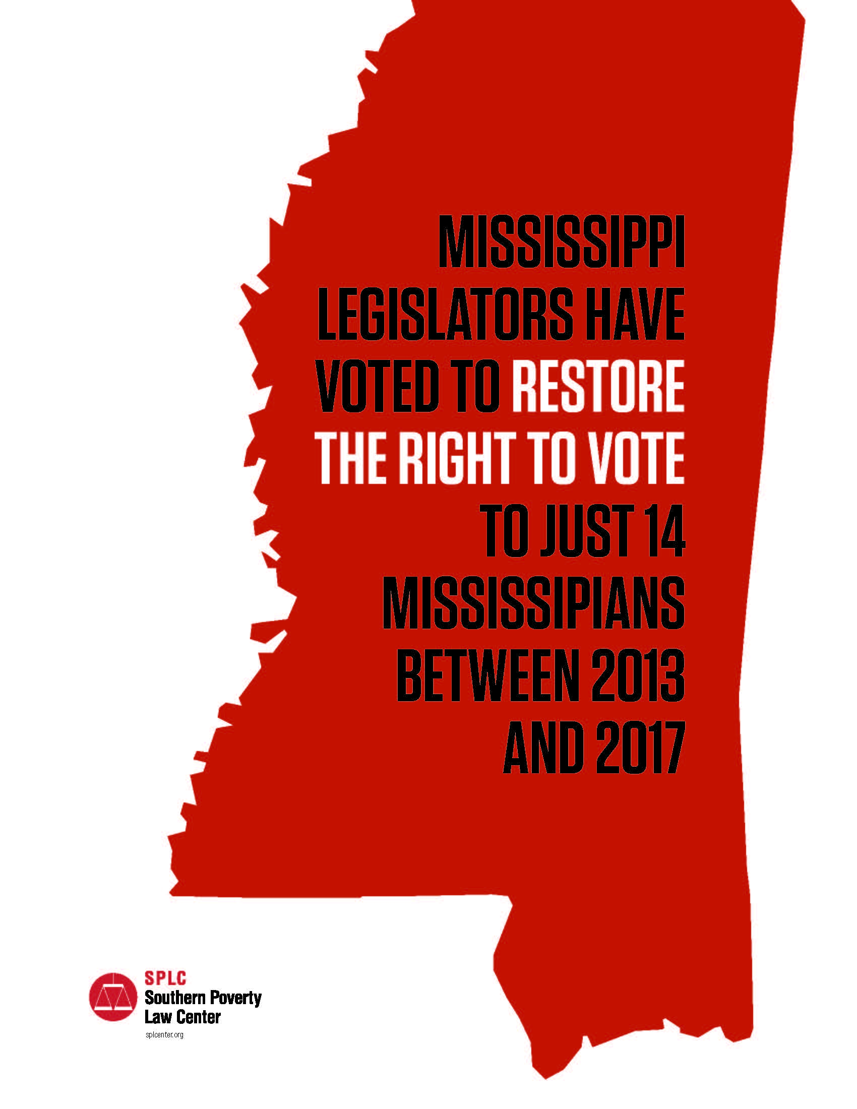 Lawsuit Alleges Mississippi Deprives >> Splc Sues To Restore Mississippi Citizens Voting Rights