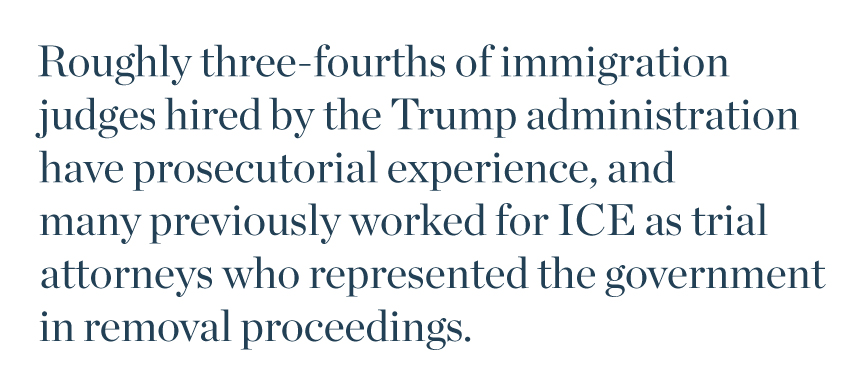 The Attorney General's Judges: How the U S  Immigration