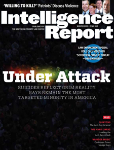 Winter 2010 issue of Intelligence Report