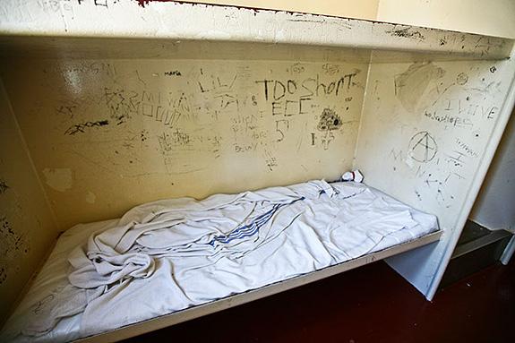 Bunk at Forrest County Juvenile Detention Center