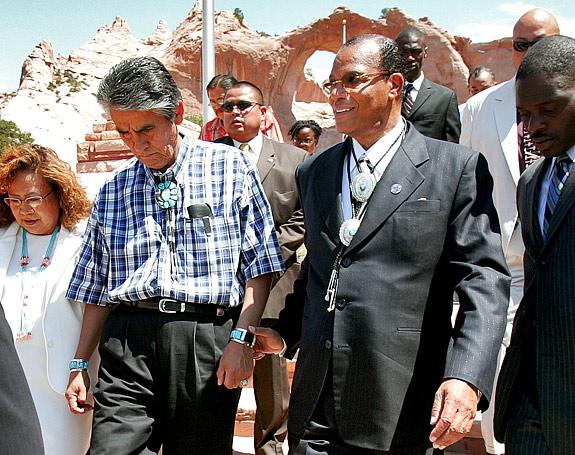 Louis Farrakhan in New Mexico