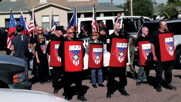National Socialist Movement - Phoenix rally