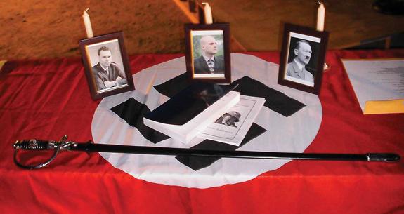National Socialist Movement Phoenix rally