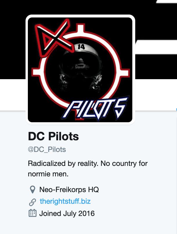 DC_Pilots Twitter bio