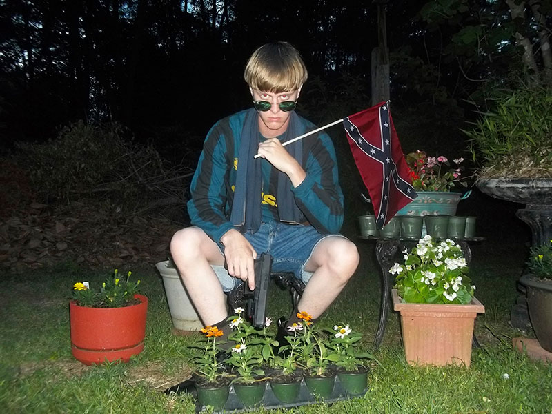 Dylann Roof, the suspect in the massacre of nine African Americans in Charleston, S.C., in June 2015.