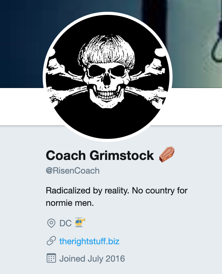 """Coach Finstock"" avatar"