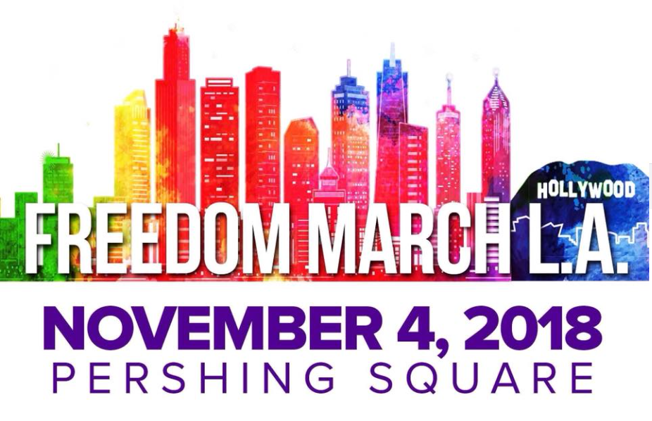 Freedom March L.A. logo