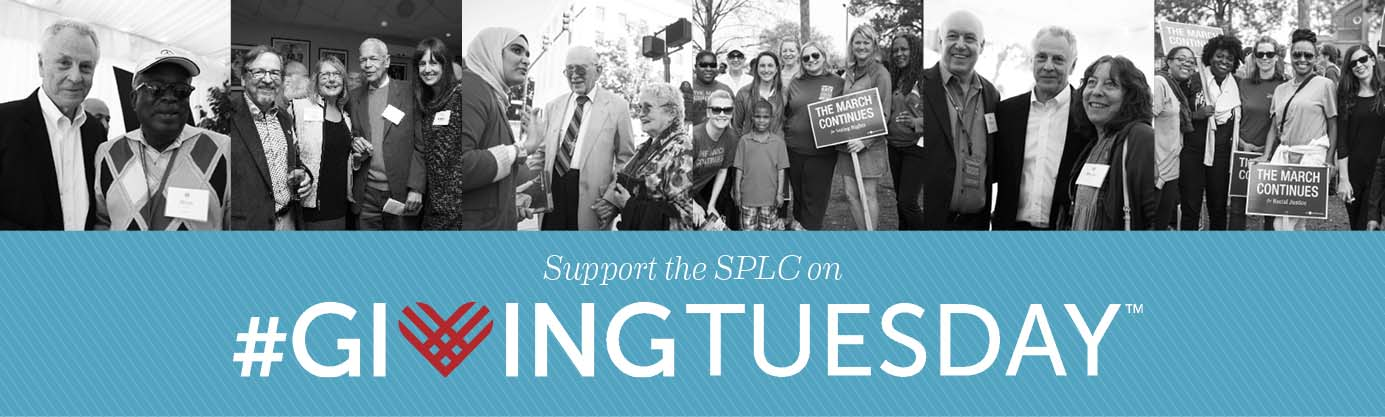 Thank you for supporting the Southern Poverty Law Center on Giving Tuesday