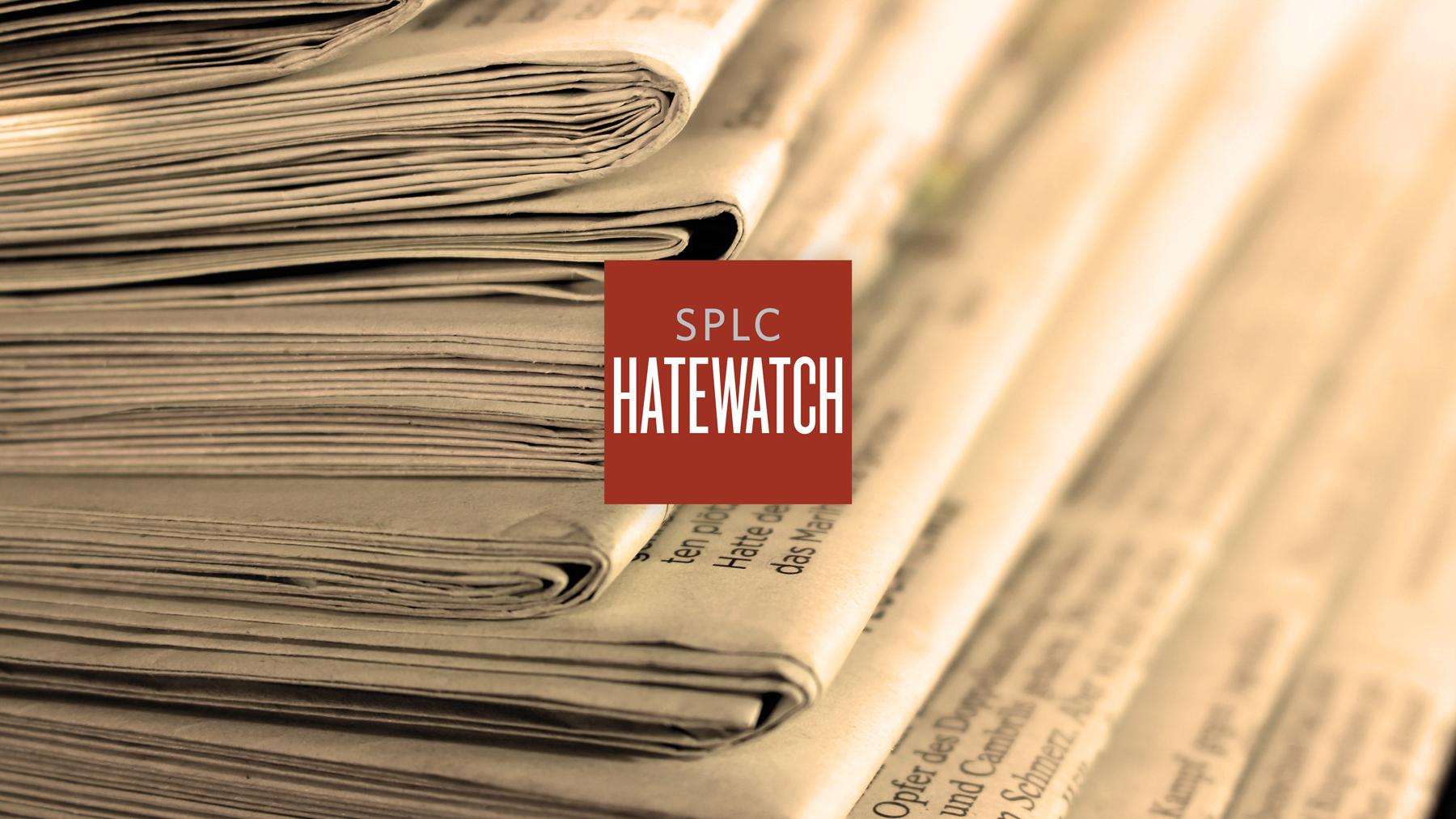 Hatewatch Headlines 12/4/2018