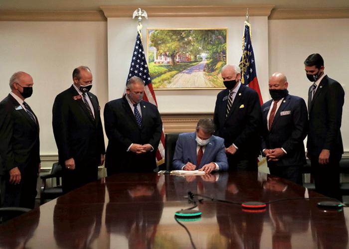 Gov. Kemp signing bill