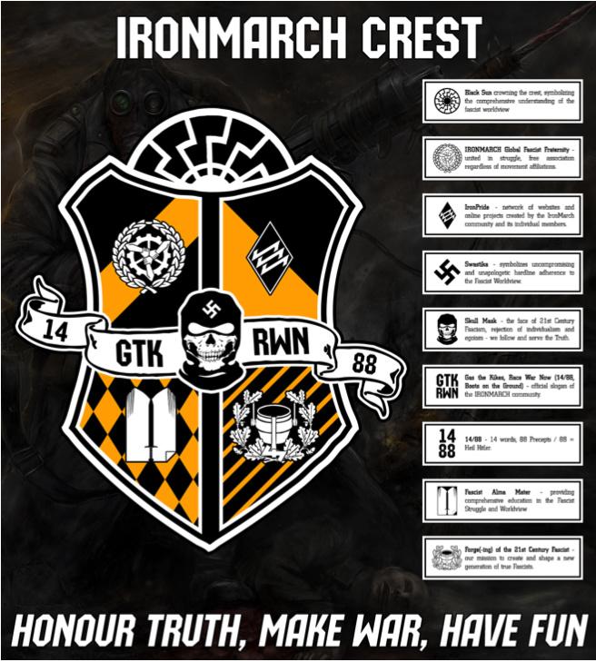 Iron March crest