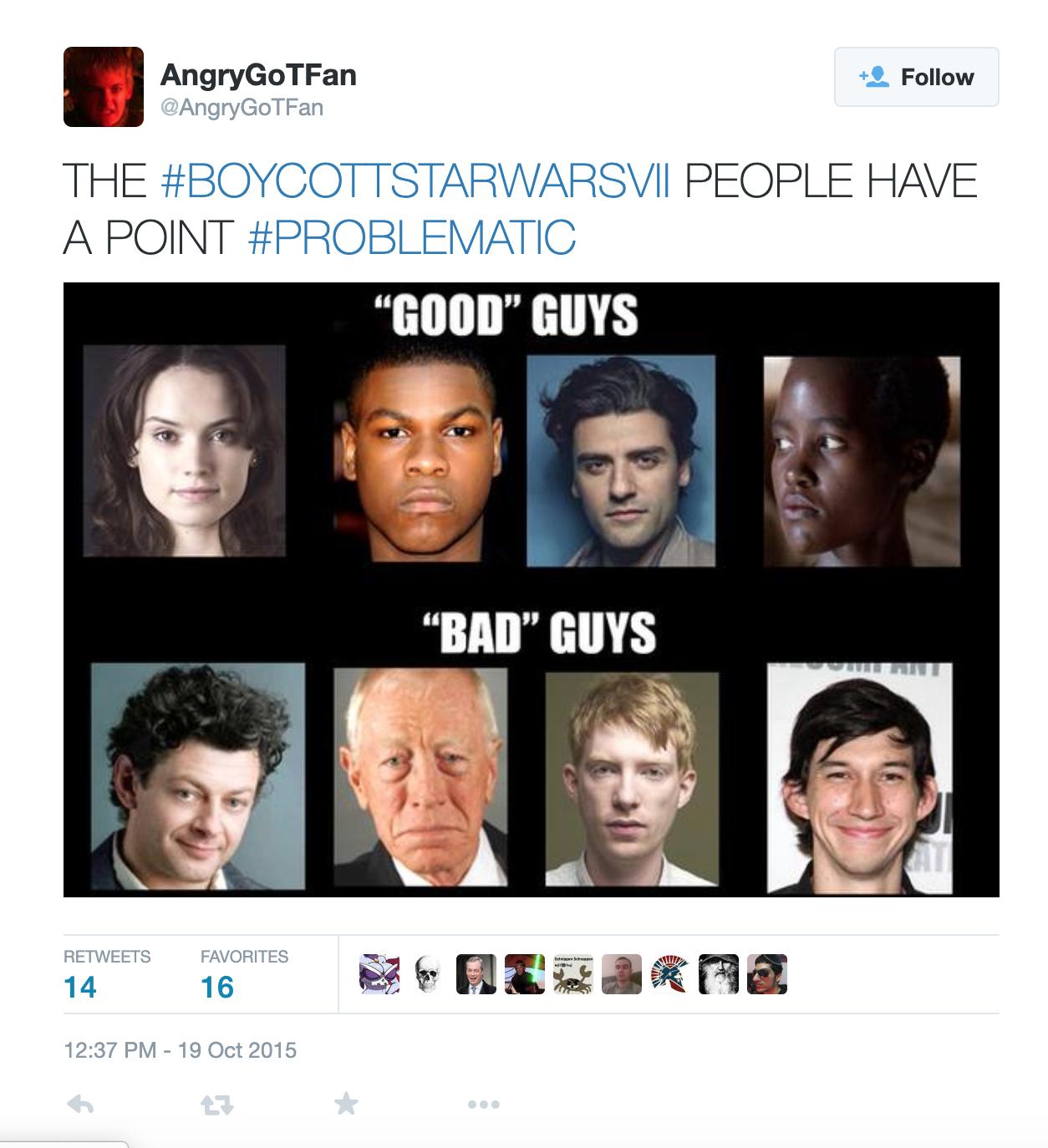 A tweet published Oct. 19, 2015