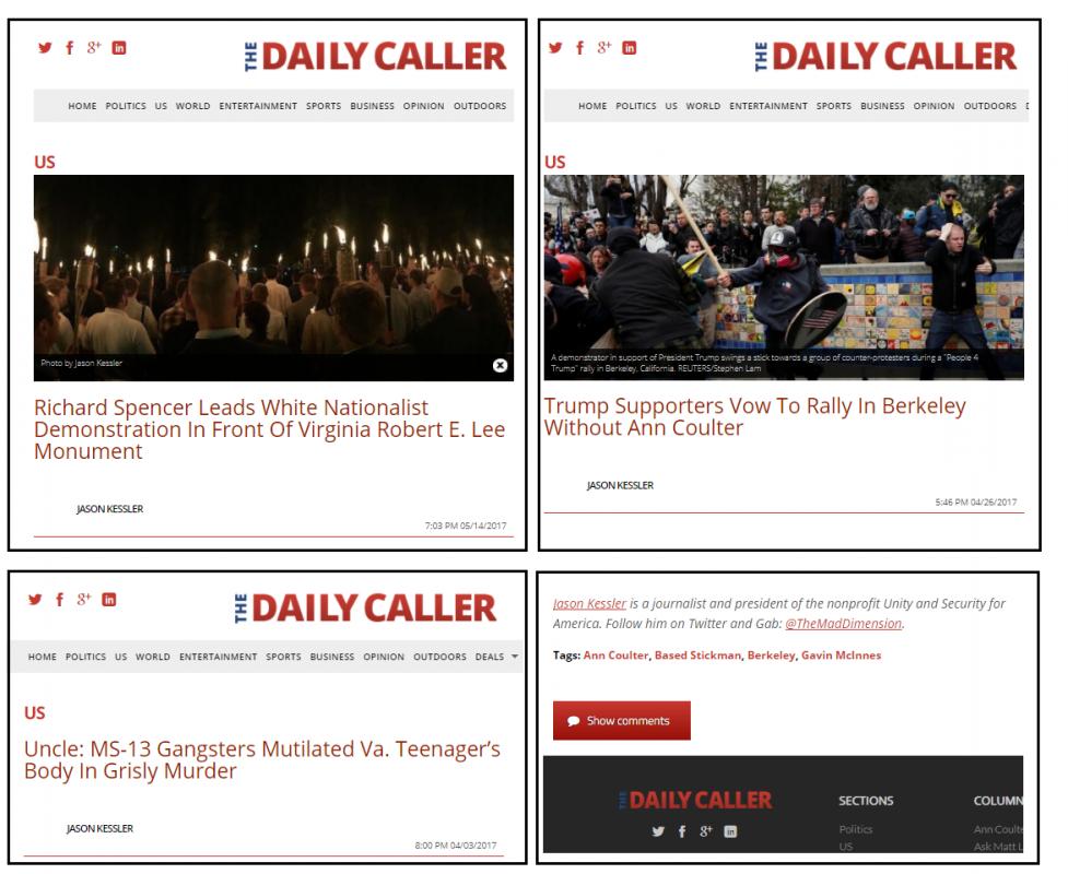 Kessler Daily Caller
