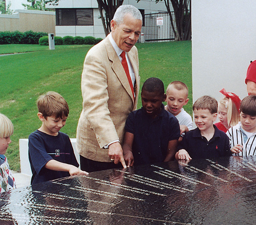 Julian Bond, civil rights memorial