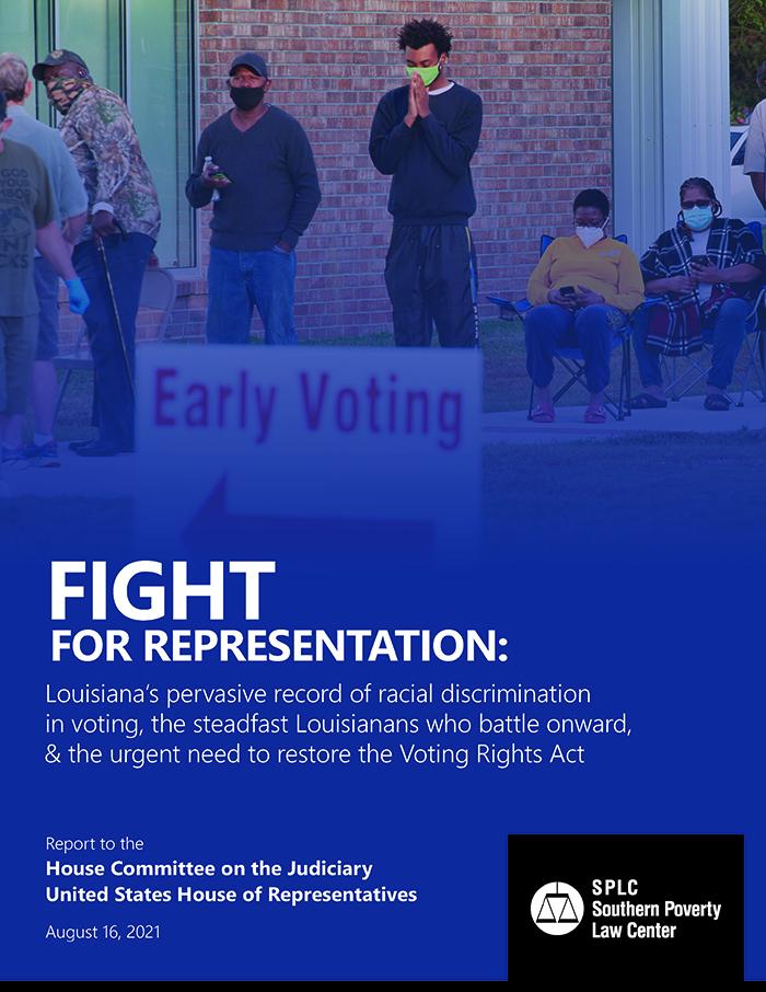 Read the Louisiana voting right report