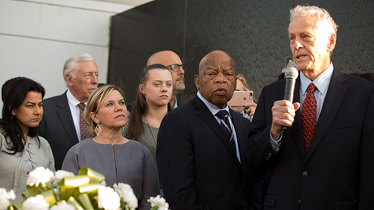 Rep. John Lewis and Morris Dees