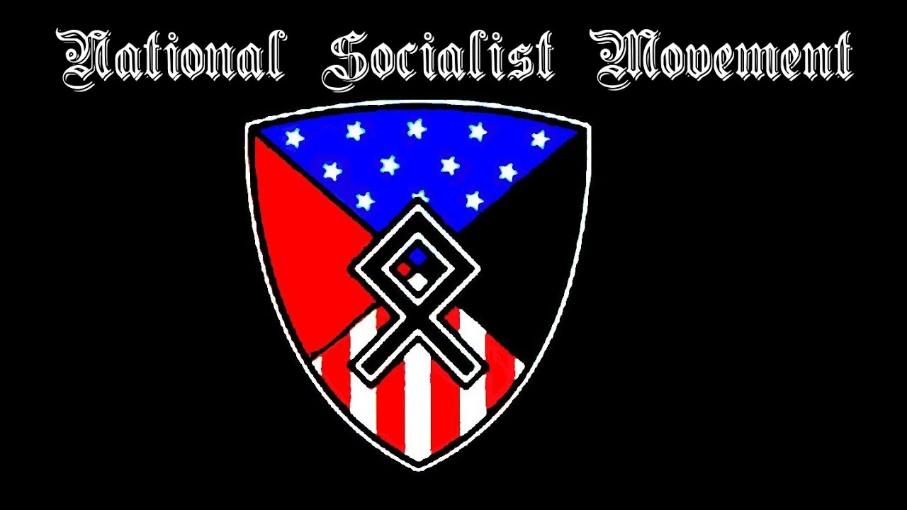 Flags and other symbols used by far right groups in charlottesville national socialist movementoldest and most likely largest ns group in usa run by jeff schoep biocorpaavc Choice Image