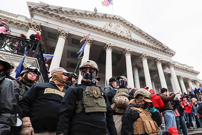 Oath Keepers at the Capitol