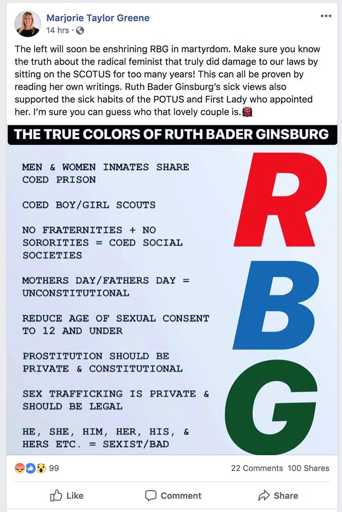 Greene RBG post