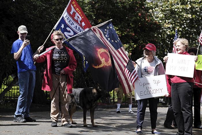 Oregon protesters