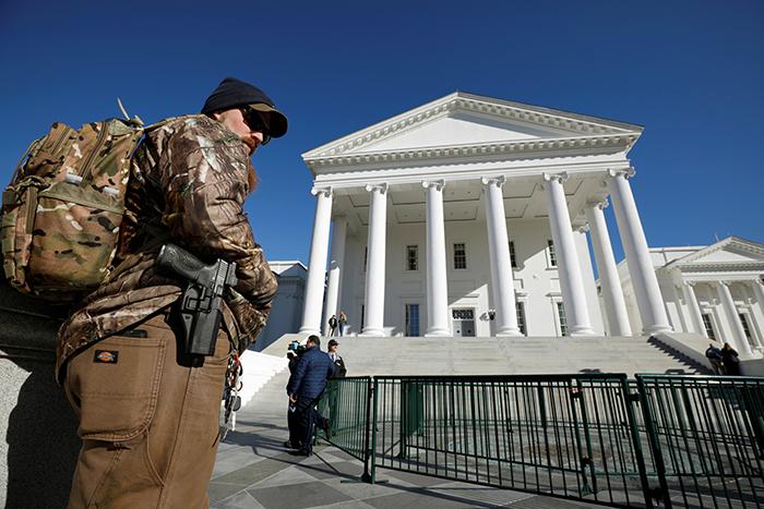 Gun activist in Richmond