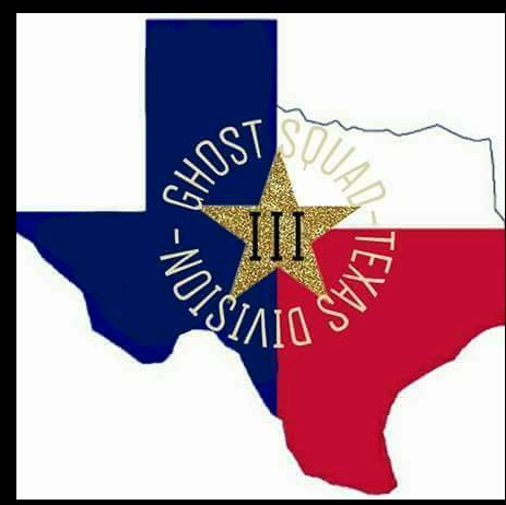 "Logo for the ""III%"" group ""Ghost Squad-Texas Division"" taken from Tyler TenBrink's Facebook page"