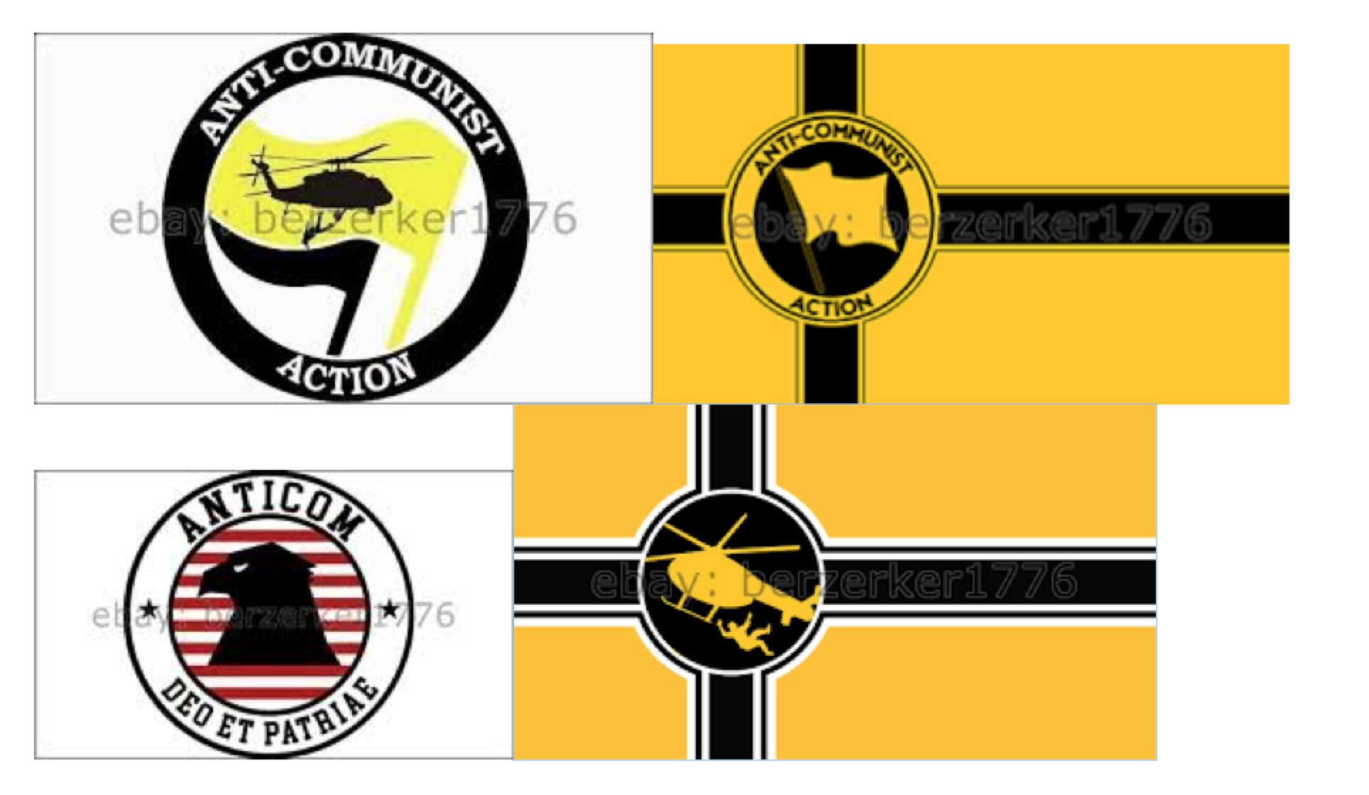 Flags and other symbols used by far right groups in charlottesville anti communist action biocorpaavc Choice Image