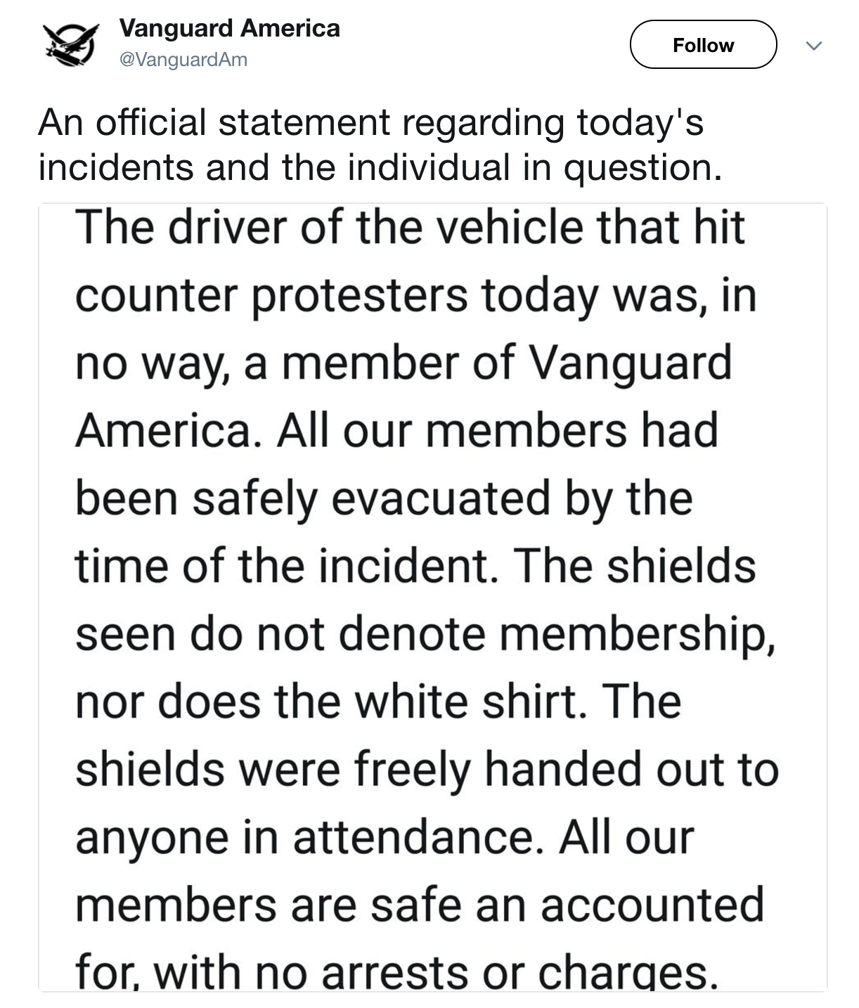 Vanguard America Whose Tagline Is Blood And Soil Is One Of A Number Of Alt Right Groups Emboldened Since The 2016 Election Pic Twitter Com Hqvh8x06tq
