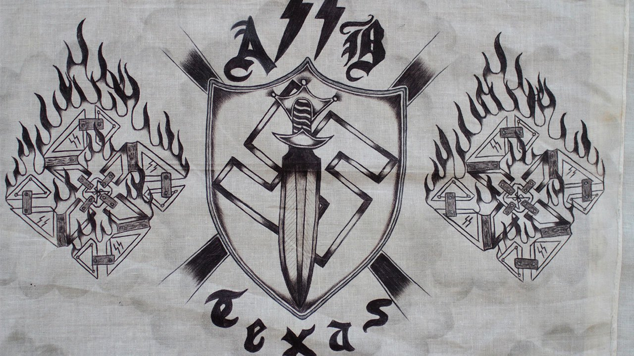 Justice department completes aryan brotherhood of texas for Arian brotherhoods tattoos