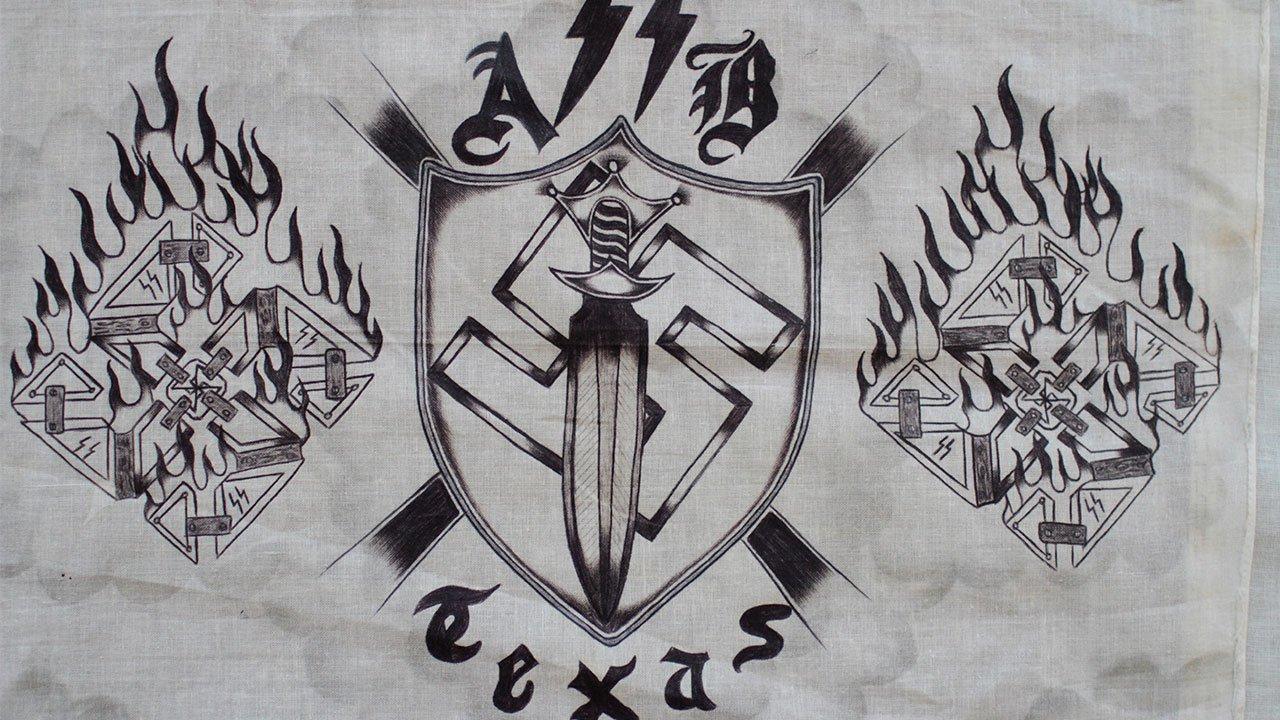 aryan brotherhood hand gang signs wwwimgkidcom the
