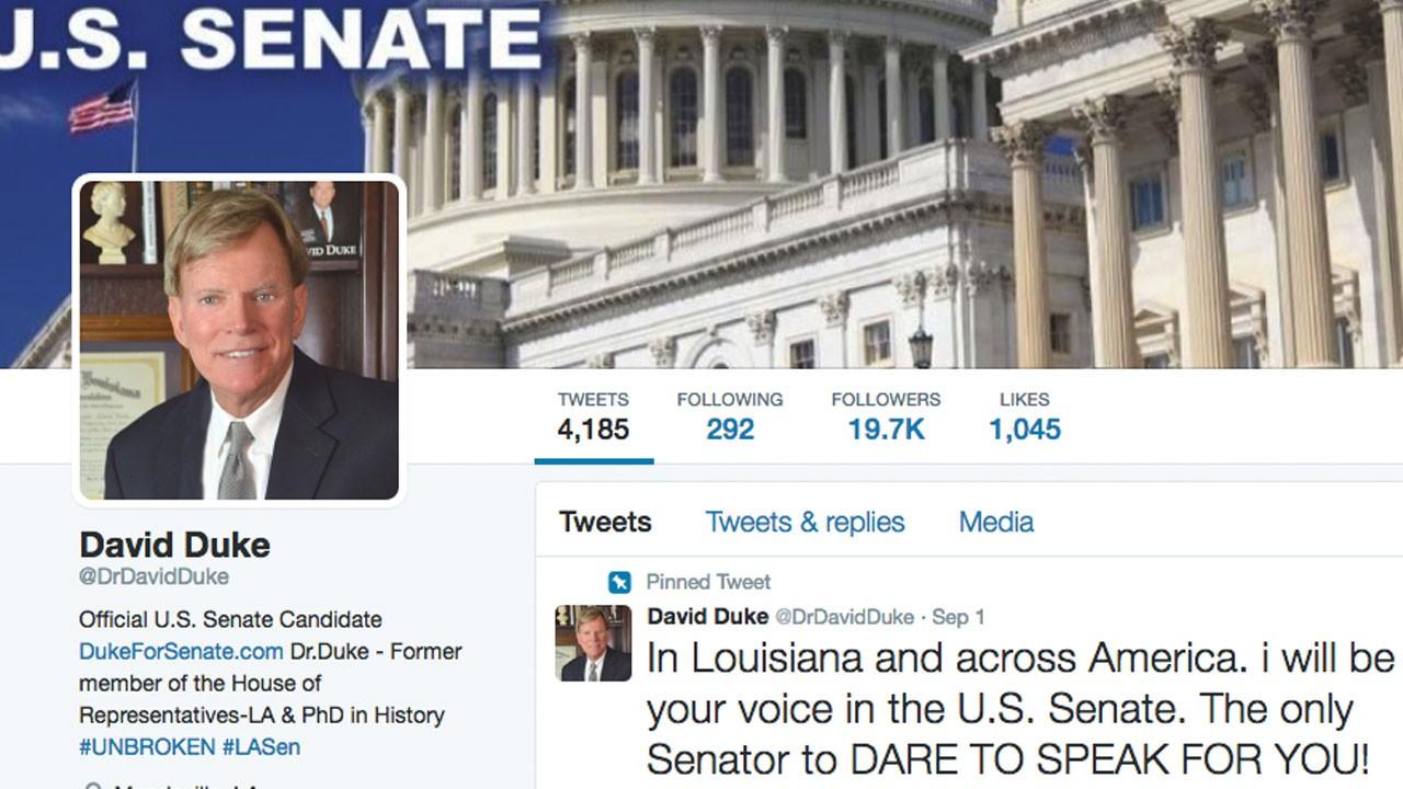 David Duke's Twitter account