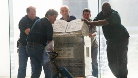 Removal of Ten Commandments statue from Alabama sate judicial building in 2003.