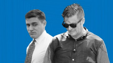 Greg Conte and Richard Spencer