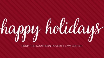Happy Thanksgiving from the Southern Poverty Law Center