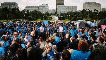 Louisianans rally for criminal justice reform with the SPLC