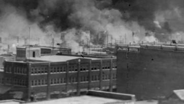 smoke in Tulsa, Oklahoma