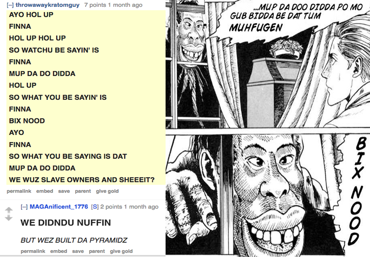 Day of the trope: White nationalist memes thrive on Reddit's r