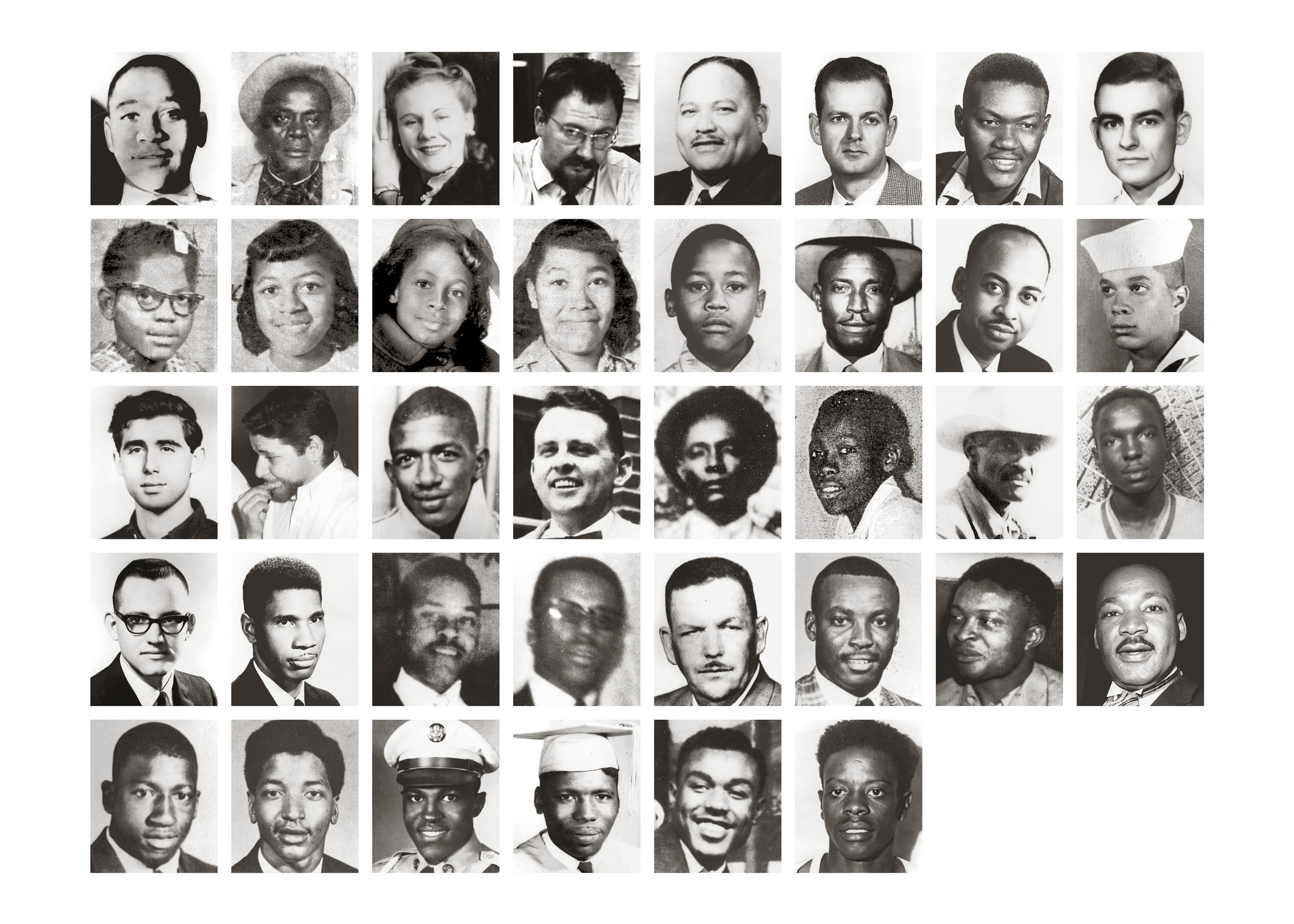 The Civil Rights Memorial Center martyrs