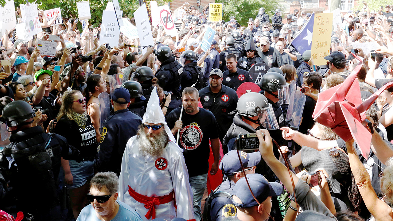 KKK Overwhelmed by Counterdemonstrators at Virginia Rally | Southern Poverty Law Center
