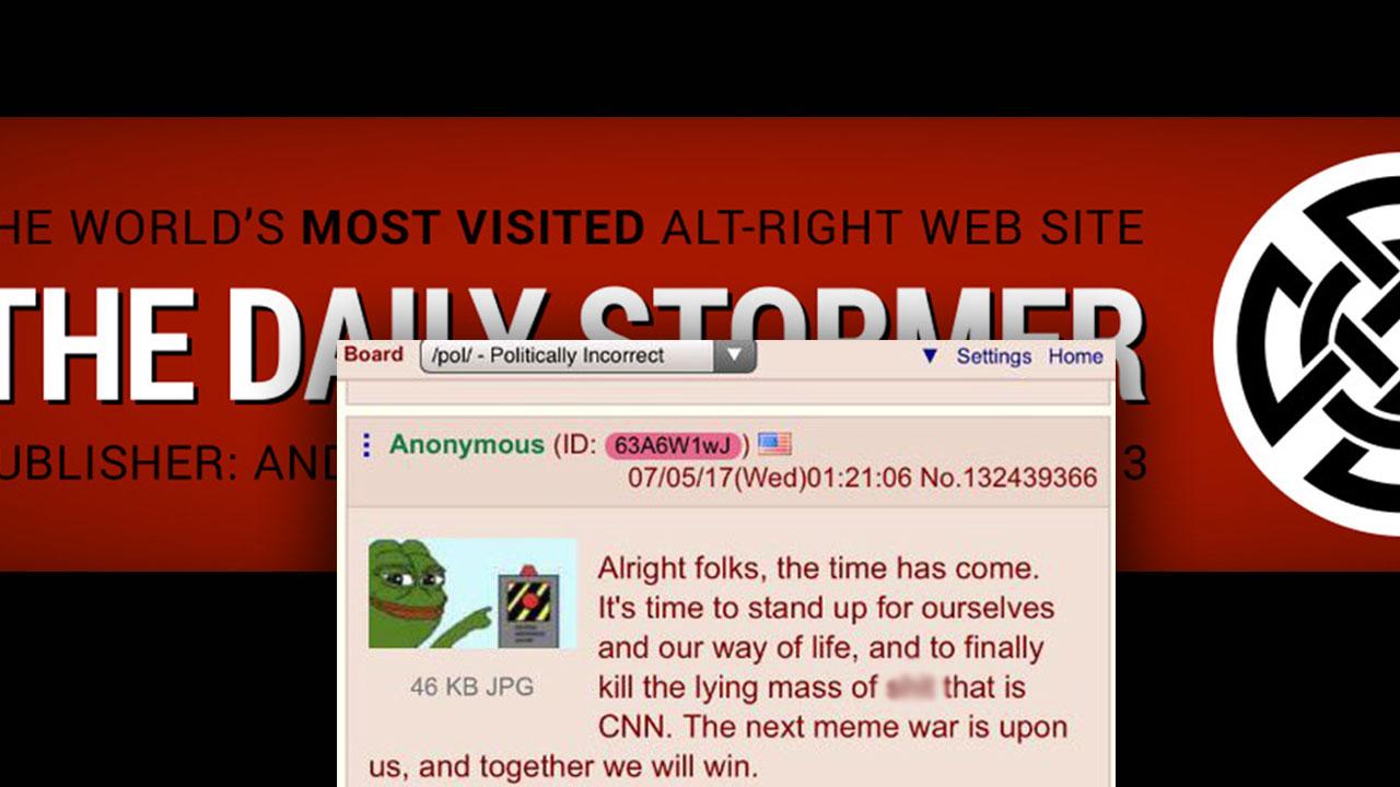 Daily Stormer Troll Army Threatens CNN Staffers Over Reddit User Behind Trump/CNN GIF