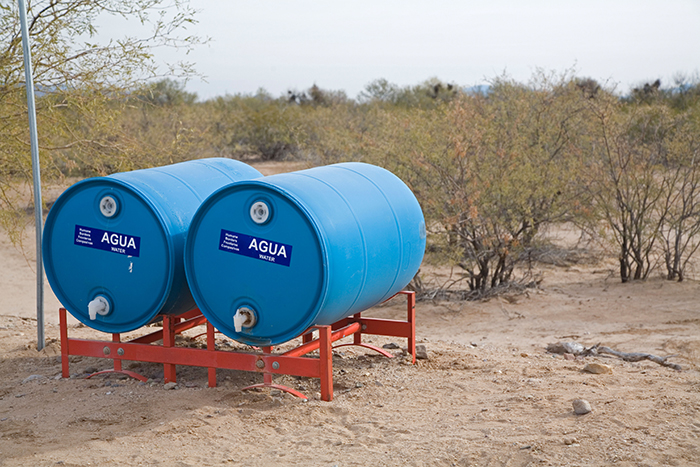 Humane Borders water stations